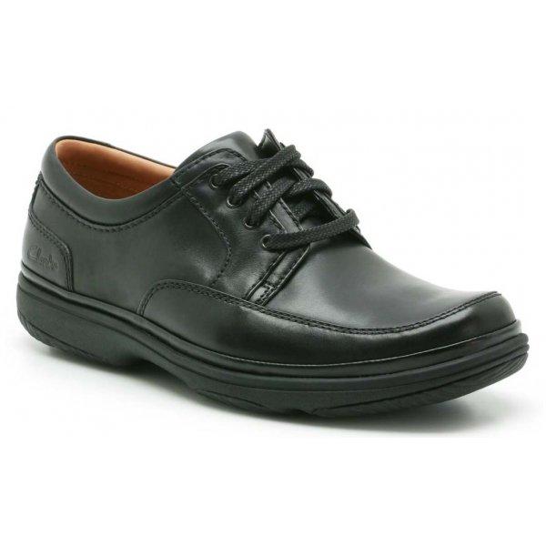 Clarks Swift Mile Black Shoes Size