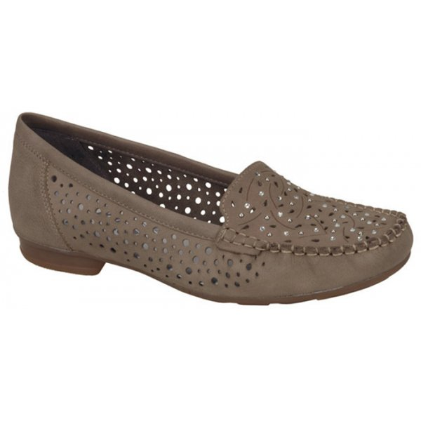 Rieker - Womens Strong Pebble Slip On Moccasins 40097-60. ‹