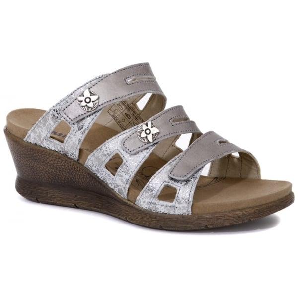 Romika womens nevis 04 platinum kombi sandals 20304 85 731 romika womens nevis 04 platinum kombi triple velcro strap over sandals 20304 85 731 thecheapjerseys Gallery