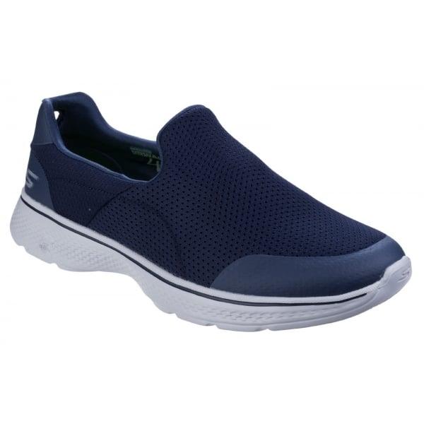 Skechers Mens Navy/Grey Go Walk 4 - Incredible Slip On Walking Shoes SK54152
