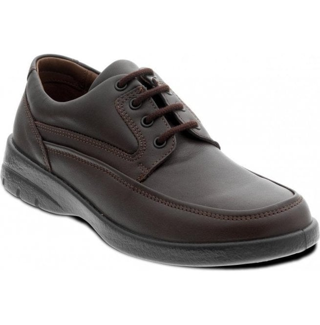 Padders Mens Fire Brown Lace Up Shoes
