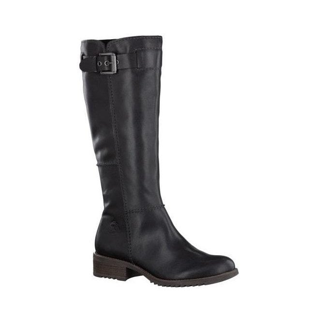 Marco Tozzi Womens Black High Leg Leather Boots 2/2-25531-21 921