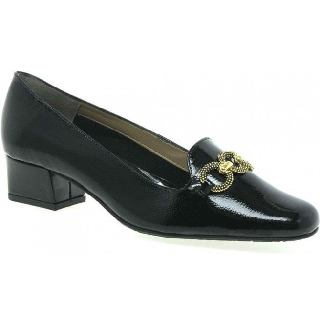 Van Dal Womens Twilight Black Court Shoes