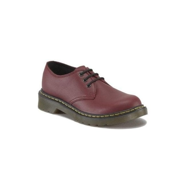 Dr Martens - Kids Everley Cherry Softy Leather Junior Shoes 15378601
