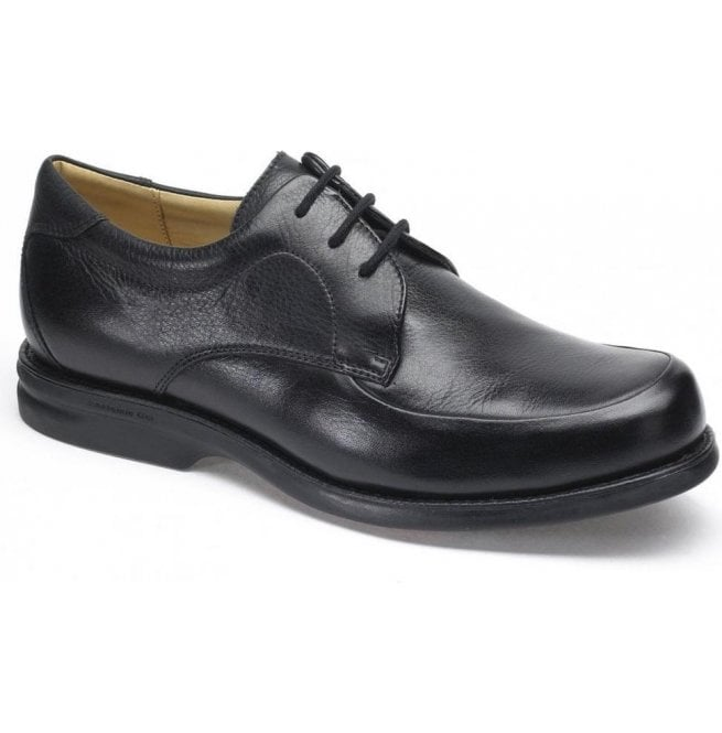 Anatomic Gel Mens New Recife Black Leather Lace Up Shoes