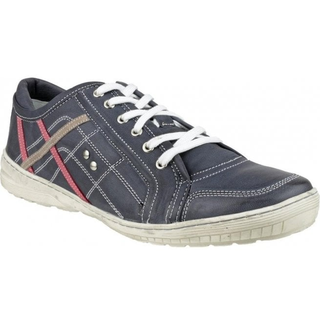 Cotswold Mens Cinderford Blue Jeans Trainer Type Shoes
