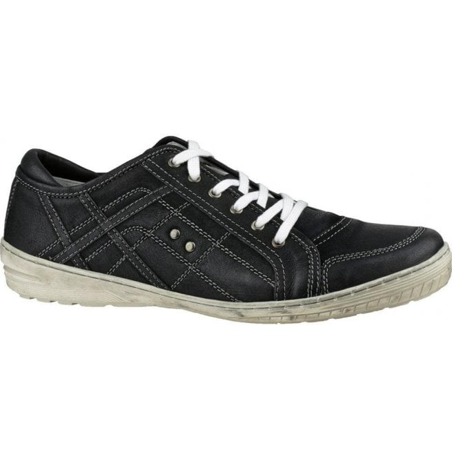 Cotswold Mens Cinderford Black Trainer Type Shoes