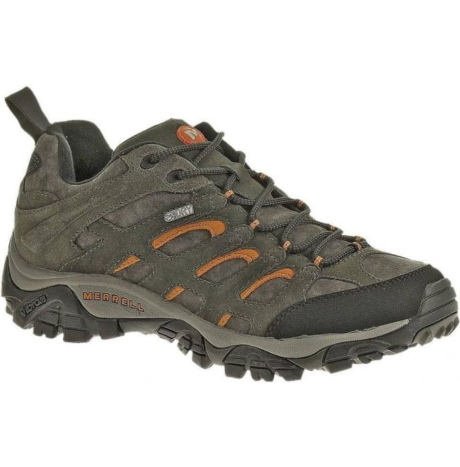 Merrell Mens Moab Waterproof Lace Up Trainers J553215