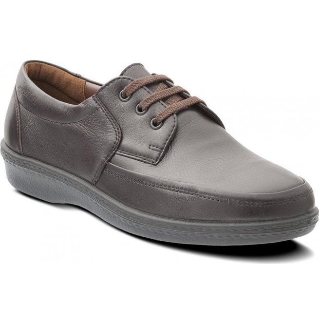 Padders Mens Dash Dark Brown Lace Shoes