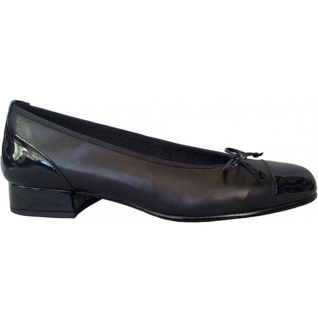 Gabor Womens Emporium Ocean Navy Pump Shoes With Bow 96.102.66