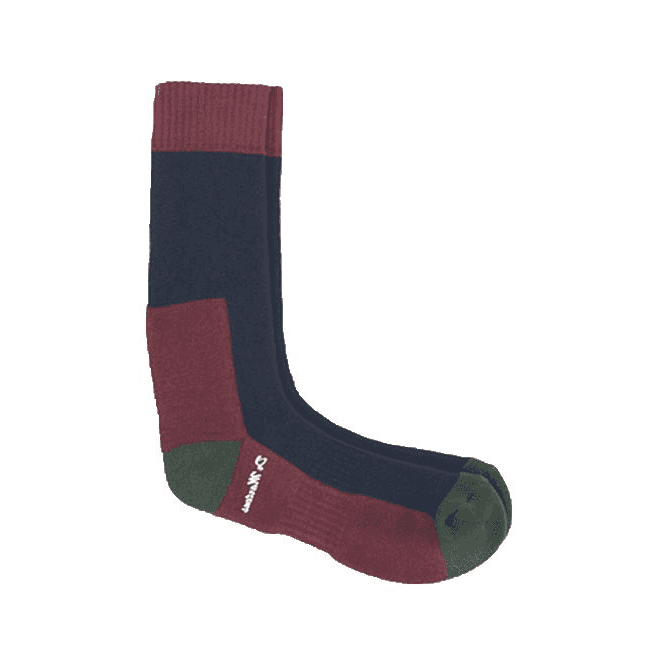 Dr Martens Doc's Navy+Green+Cherry Red Multi Coloured Socks