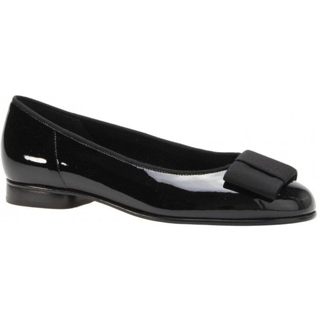 Gabor Womens Assist Black Slip On Shoes 05.100.97