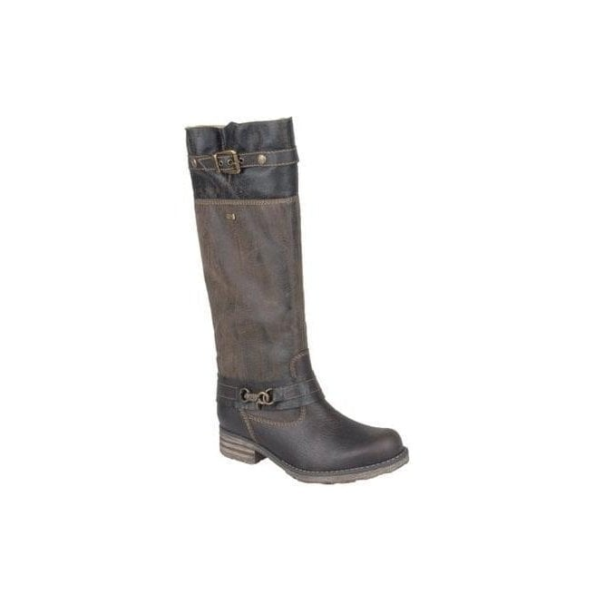 Remonte Womens Michigan Brown Knee Boots R6286-25