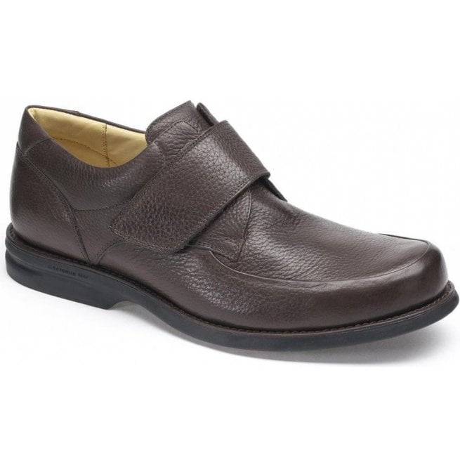 Anatomic Gel Mens Tapajos Brown Leather Velcro Casual Shoes