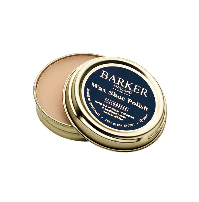 Barker Premium Neutral Wax Shoe Polish