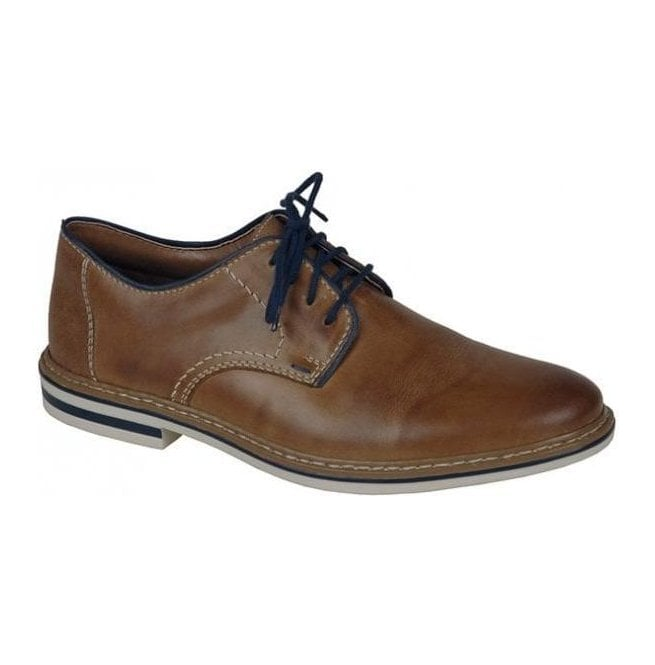 Rieker - Mens Ramon Brown Lace Up Shoes B1422-25