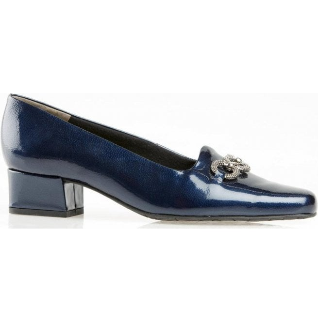 Van Dal Womens Twilight Marine Navy Court Shoes