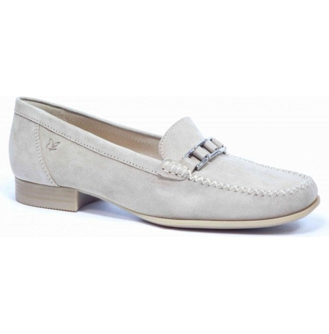 Caprice Womens Beige Slip On Moccasins 9-9-24251-26 404