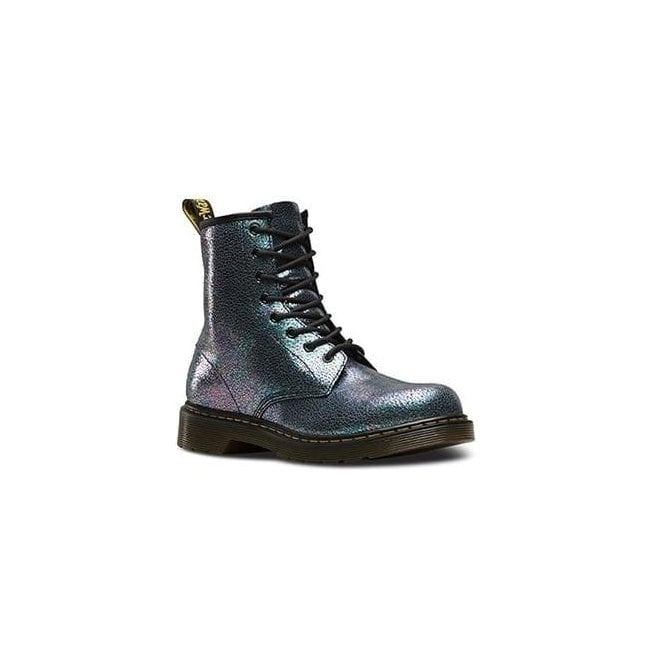 Dr Martens - Kids Youths Grey Lace Up Ankle Boots 21985020