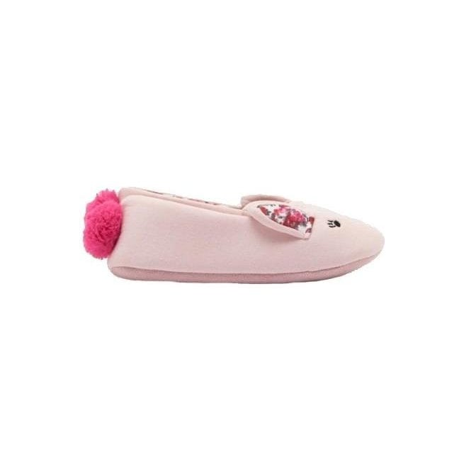 Joules Kids Dreama Hare Cosy Slippers