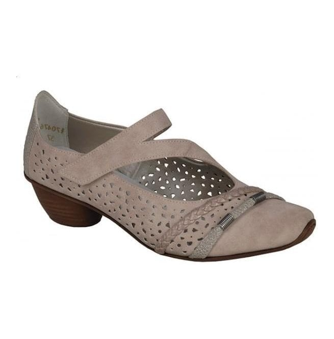 Rieker - Womens Morelia Rose Strap Over Casual Shoes 43706-33