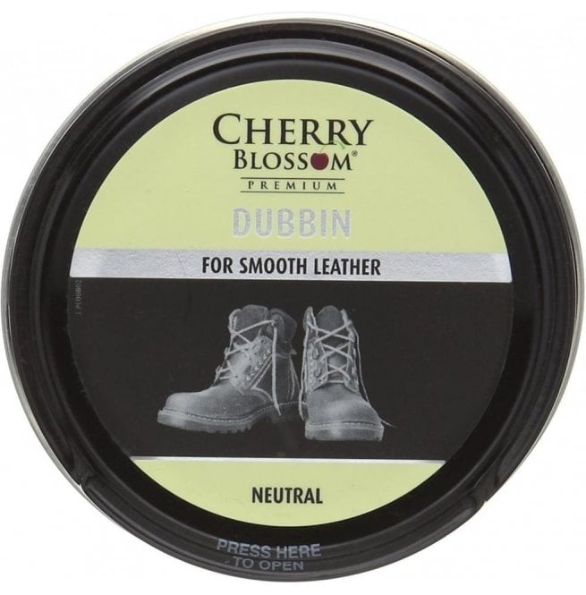 Cherry Blossom Premium Neutral Smooth Leather Dubbin
