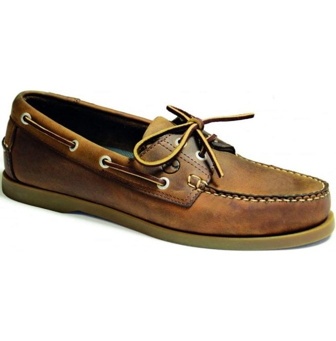 Orca Bay Mens Creek Sand Leather Deck Shoes