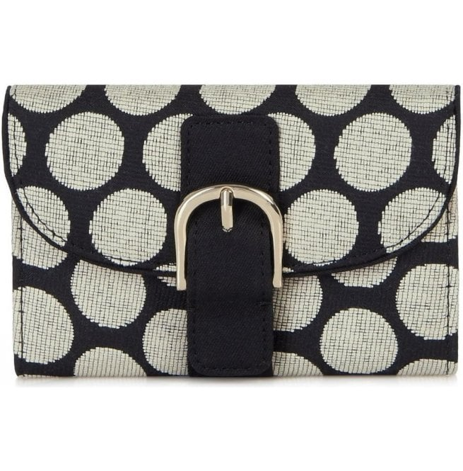 Ruby Shoo Womens Garda Black Spotted Purse 50085