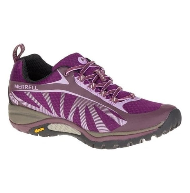 Merrell Womens Siren Edge Huckleberry Waterproof Lace Up Trainers J37204