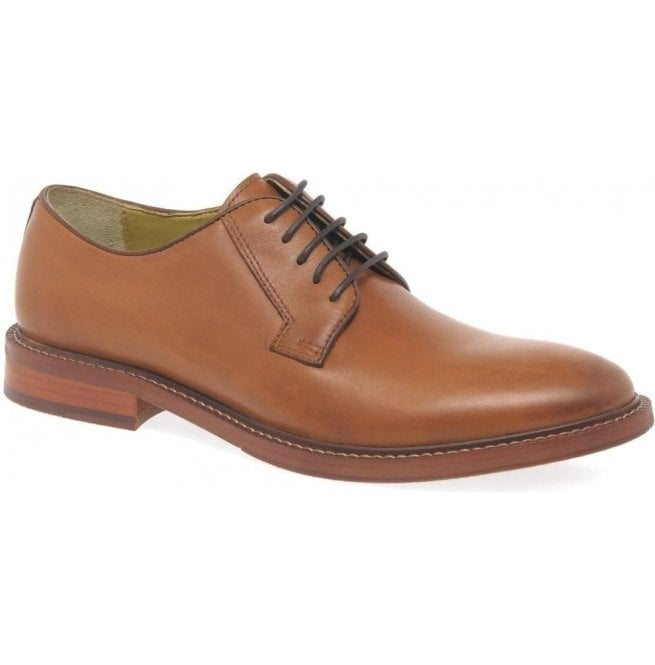 Steptronic Mens Banbury Cognac Formal Lace Up Shoes
