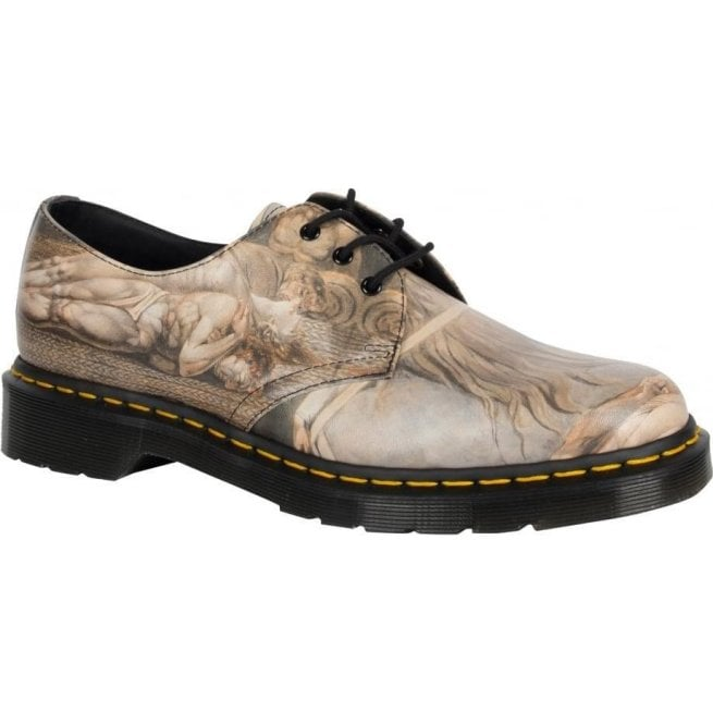 Dr Martens Womens 1461 Multi William Blake Shoes 22874102 Limited Edition