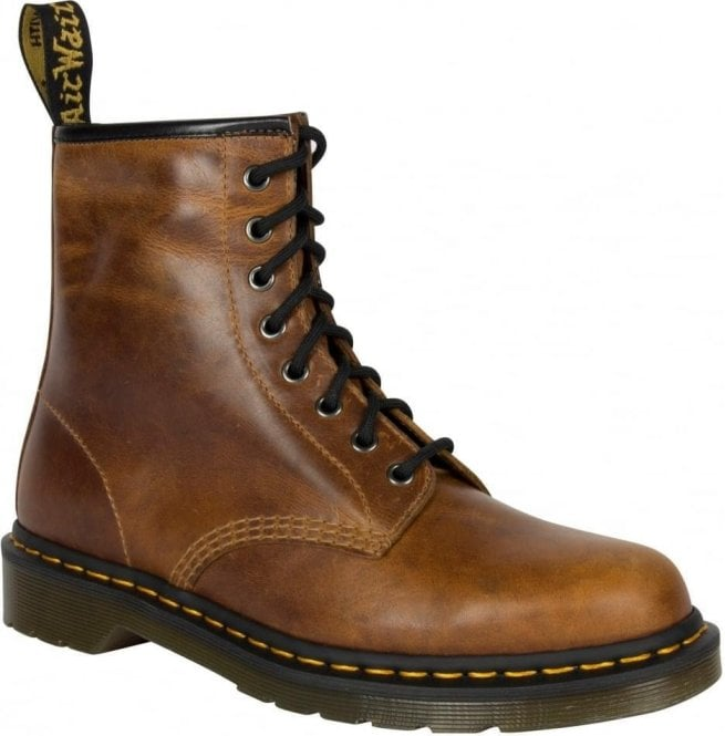 Dr Martens Mens 1460 Orleans Butterscotch Lace-Up Boots 22828243