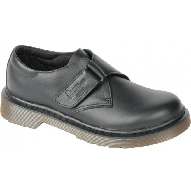 Dr Martens - Kids Jerry Y Black Leather Softy T Shoes 2200001