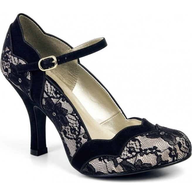 Ruby Shoo Womens Imogen Lace Mary Jane Court Shoes 09121