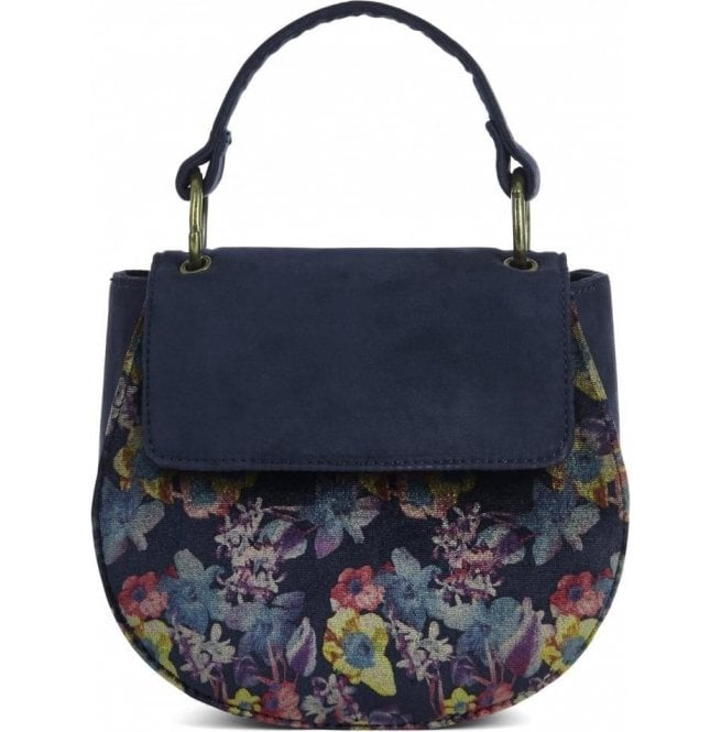 Ruby Shoo Womens Acapulco Navy Mini Saddle Bag 50101