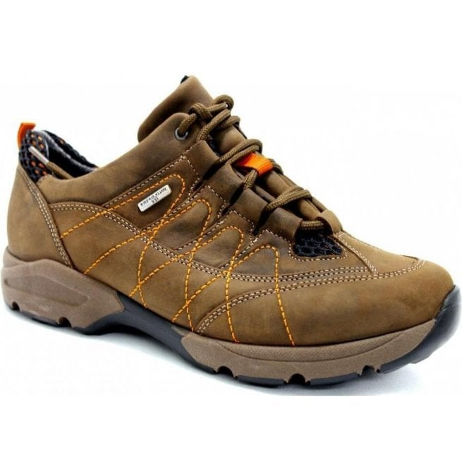 Waldlaufer Womens Hanefa Tabak Waterproof Walking Shoes 368951 201 191