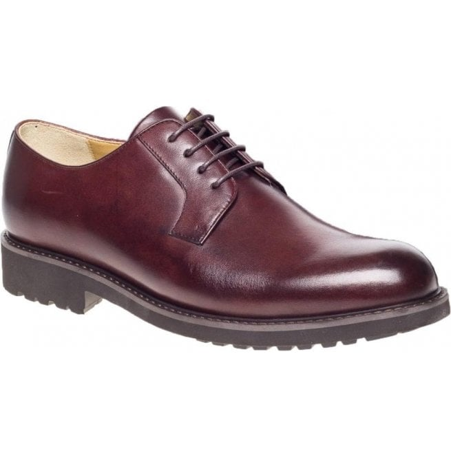 Steptronic Mens Ilford Reddish Brown Gibson Shoes