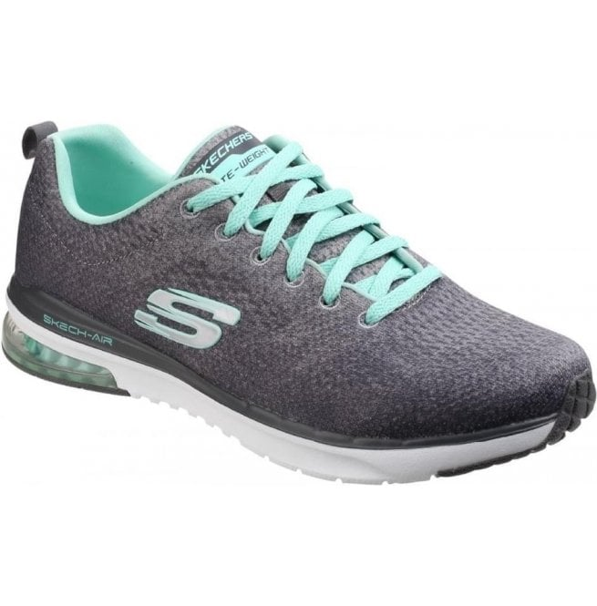 Skechers Womens Charcoal/Multi Skech-Air Infinity - Modern Chic Shoes SK12178