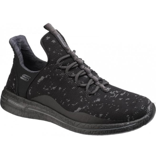 Skechers Womens Black Burst 2.0 - New Adventures Lace-Up Shoes SK12656