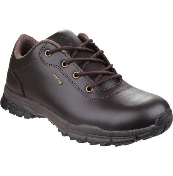 Cotswold Mens Alderton Brown Waterproof Hiking Shoes