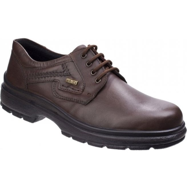 Cotswold Mens Shipston Crazy Horse Waterproof Lace Up Shoes