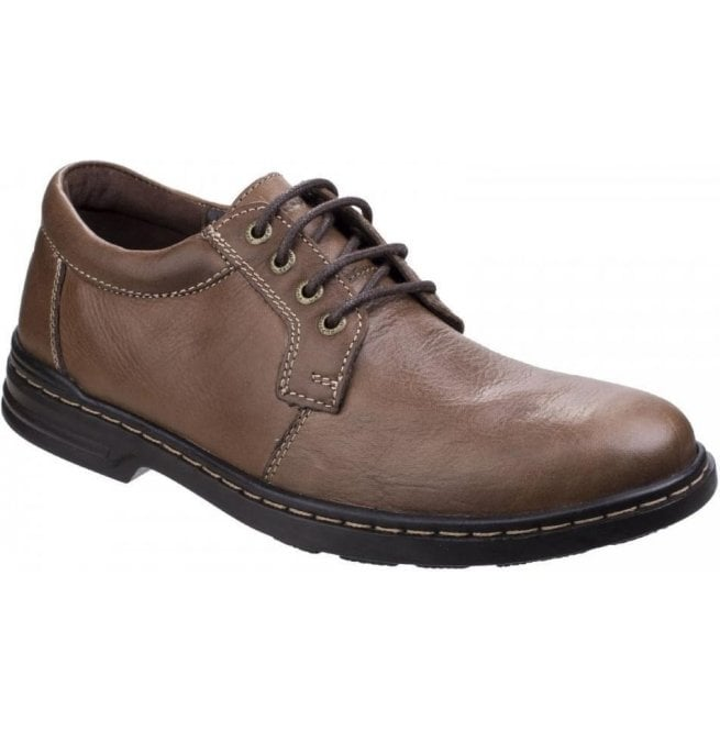 Hush Puppies Mens George Hanston Brown Formal Lace-up Shoes