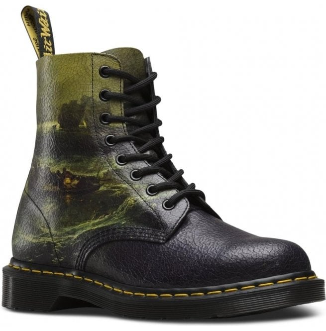 Dr Martens Womens 1460 Pascal Multi Fisherman Cristal 8-Eye Boots 23592102