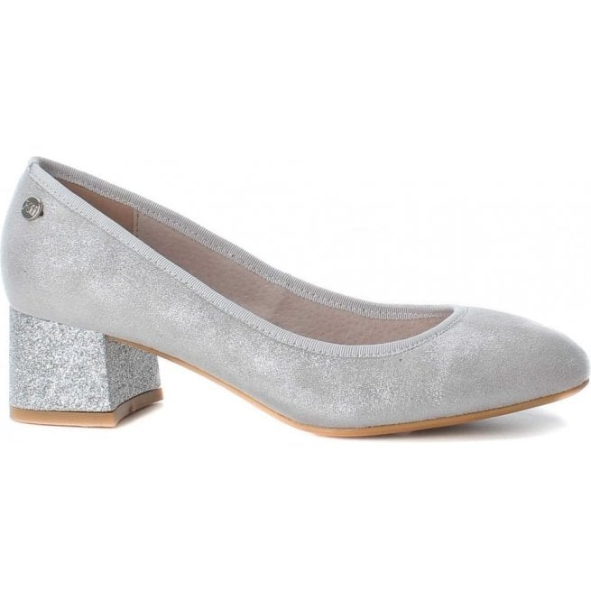 XTI Womens 30707 Plata (Silver) Slip-On Court Shoes
