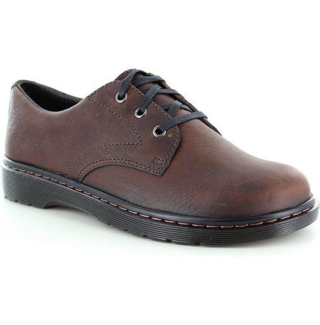 Dr Martens Mens Andre Dark Brown Lace Up Shoes 14801201