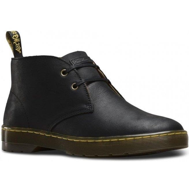 Dr Martens Mens Cabrillo Black Wyoming Desert Boots 16593001