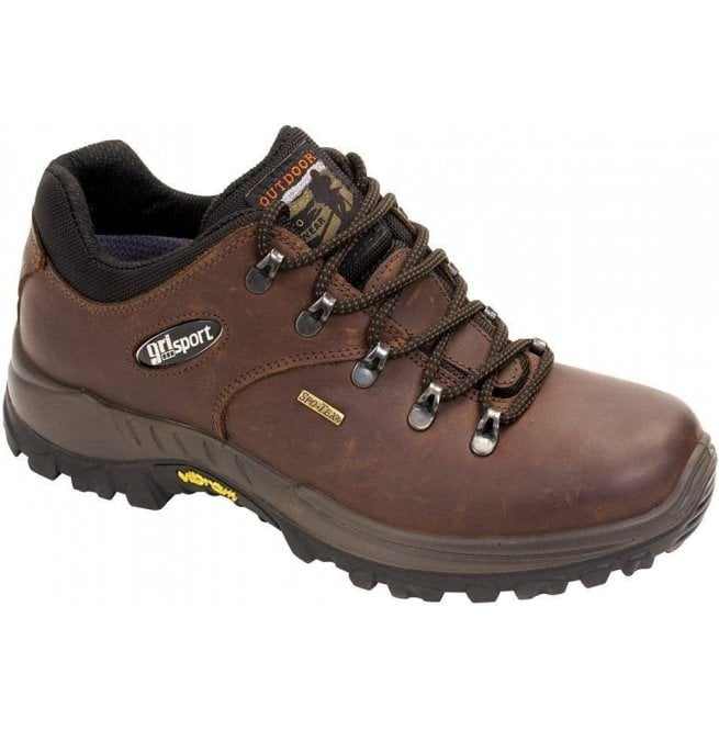 GRI-Sport Mens Dartmoor Brown Waterproof Walking Shoes