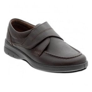 Mens Solar Brown Velcro Fastened Shoes