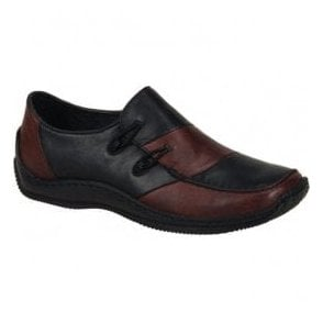 Celia Black/Burgundy Casual Shoes L1762-36