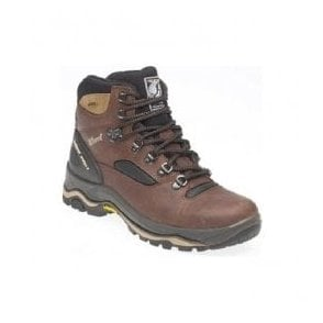 Mens Quatro Brown Waterproof Walking Hiking Boots